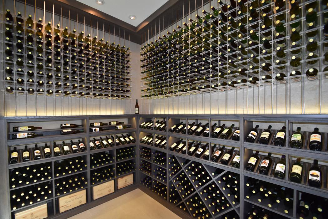 Les plus belles installations de caves à vin